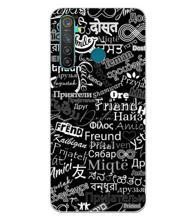Friend in All Languages Back Cover for Realme 5