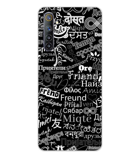 Friend in All Languages Back Cover for Realme 6