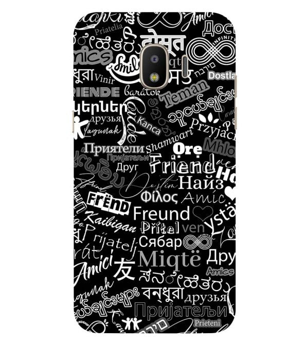 Friend in All Languages Back Cover for Samsung Galaxy J2 (2018)