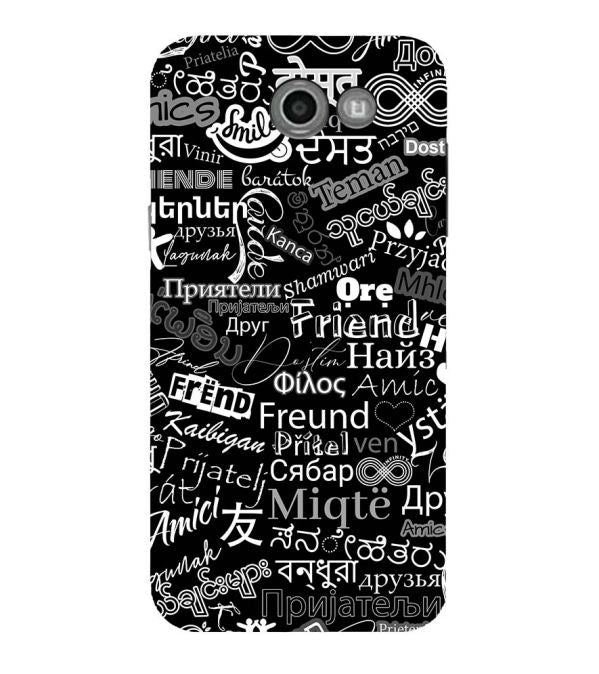 Friend in All Languages Back Cover for Samsung Galaxy J7 (2017)