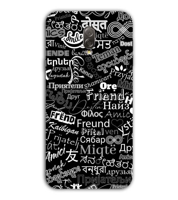 Friend in All Languages Back Cover for Samsung Galaxy J7 Plus