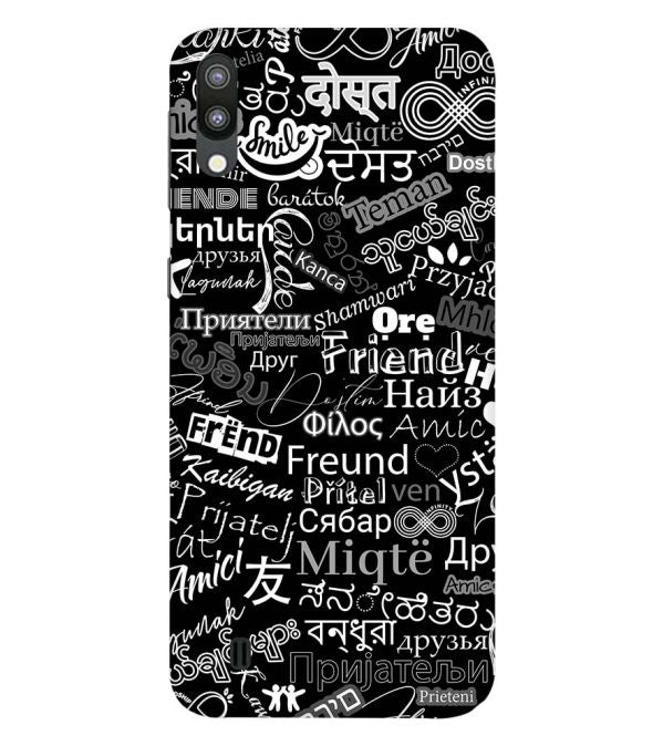 Friend in All Languages Back Cover for Samsung Galaxy M10