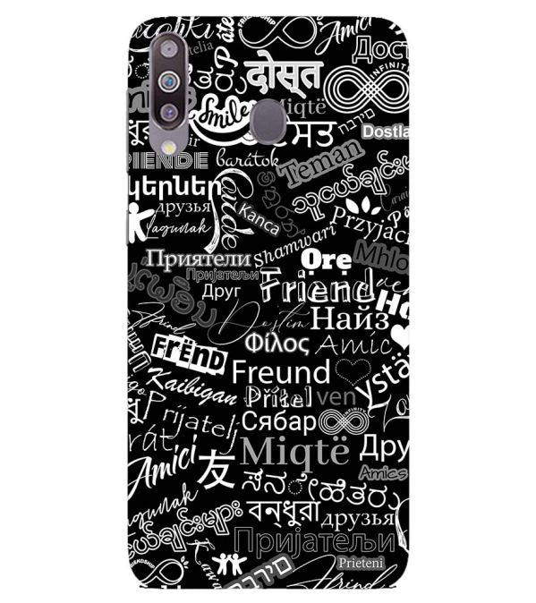 Friend in All Languages Back Cover for Samsung Galaxy M40
