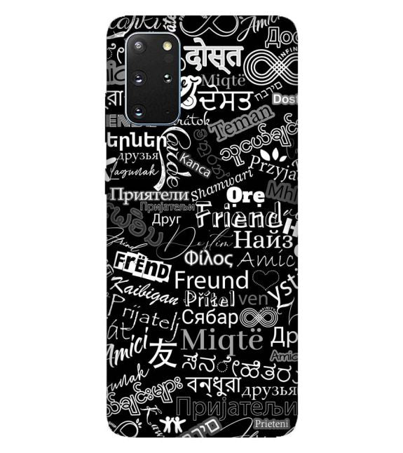 Friend in All Languages Back Cover for Samsung Galaxy S20+