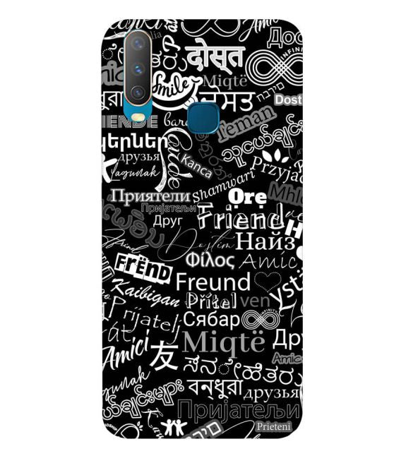 Friend in All Languages Back Cover for Vivo U10