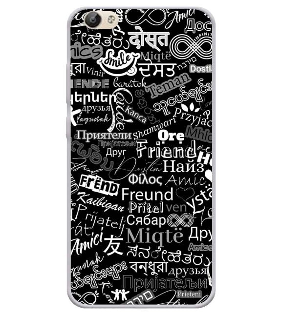 Friend in All Languages Back Cover for Vivo Y66