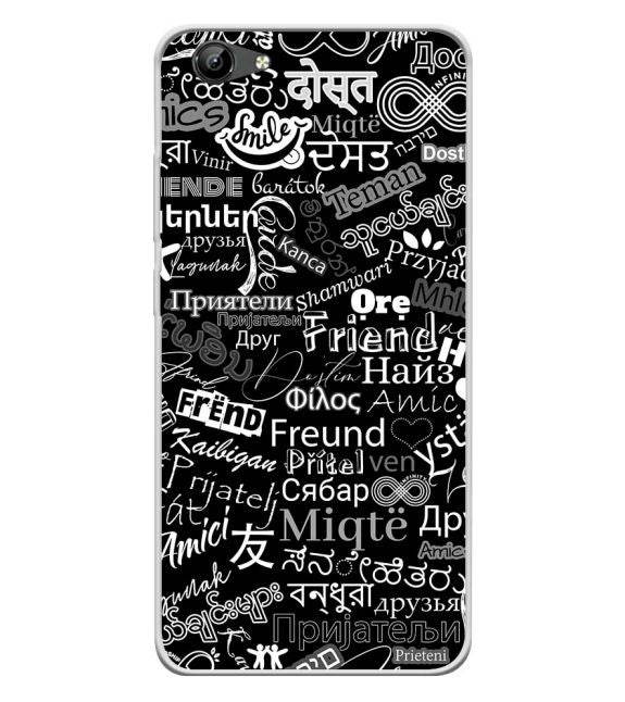 Friend in All Languages Back Cover for Vivo Y71i