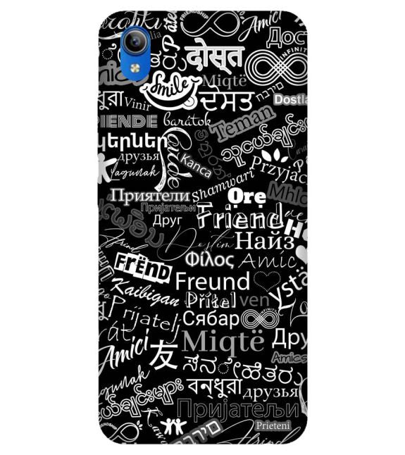 Friend in All Languages Back Cover for Vivo Y90