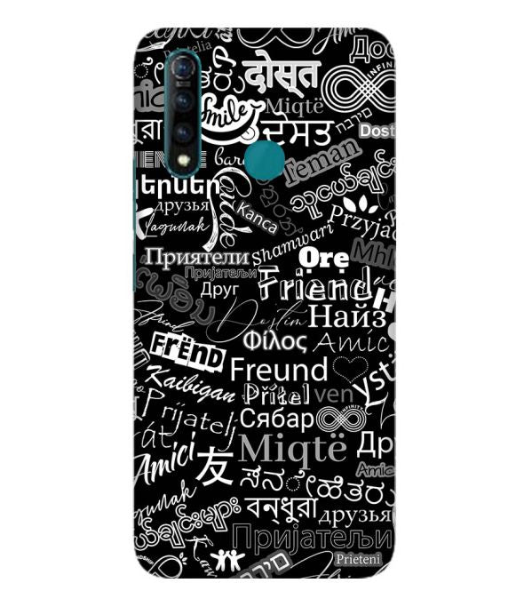 Friend in All Languages Back Cover for Vivo Z1 Pro