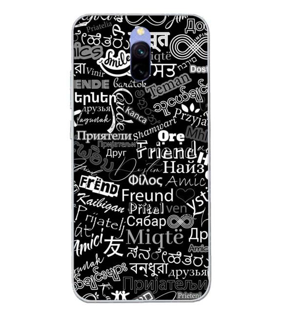 Friend in All Languages Back Cover for Xiaomi Redmi 8A Dual