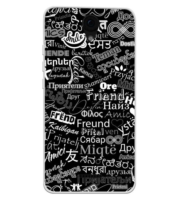Friend in All Languages Back Cover for Yu Yunique 2 Plus
