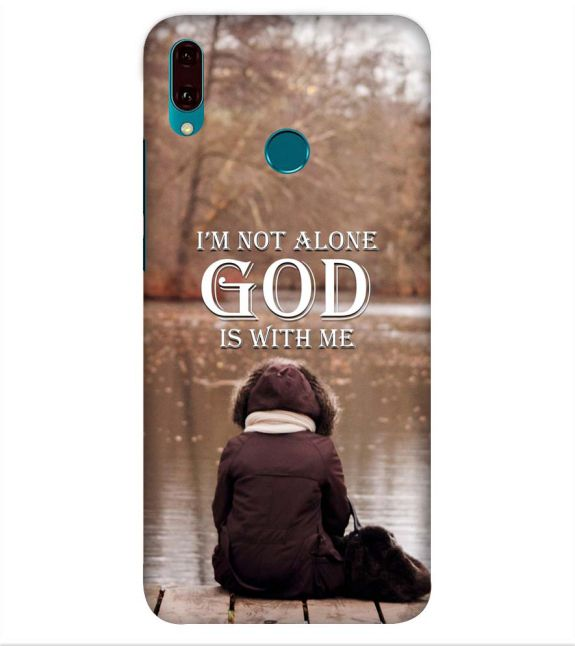God is with Me Back Cover for Huawei Y9 (2019)