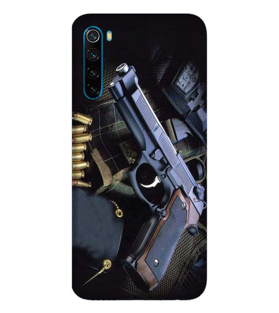 Guns And Bullets Back Cover for Xiaomi Redmi Note 8