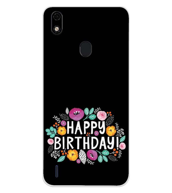 Happy Happy Birthday Back Cover for Lava Z52 Pro