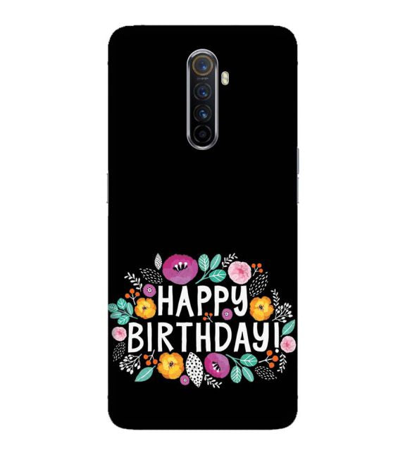 Happy Happy Birthday Back Cover for Oppo Reno Ace