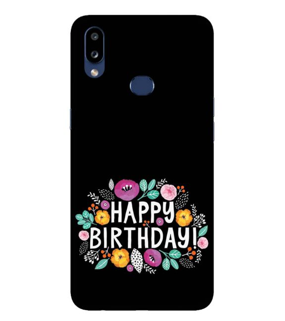 Happy Happy Birthday Back Cover for Samsung Galaxy A10s