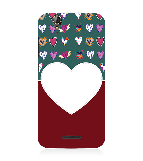 Hearts Photo Back Cover for Acer Liquid Zade 630