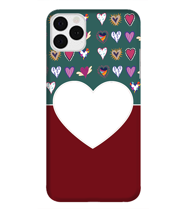 Hearts Photo Back Cover for Apple iPhone 11 Pro