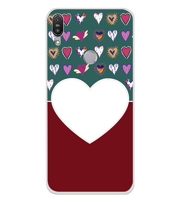 Hearts Photo Back Cover for Asus Zenfone Max Pro M1