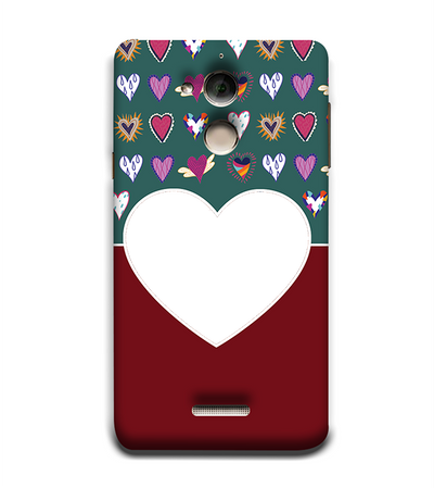 Hearts Photo Back Cover for Coolpad Note 5