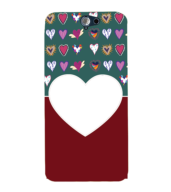 Hearts Photo Back Cover for HTC One A9