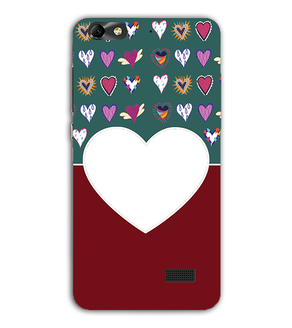 Hearts Photo Back Cover for Huawei Honor 4C