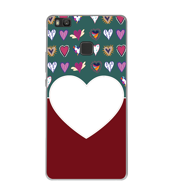 Hearts Photo Back Cover for Huawei Honor 8 Smart