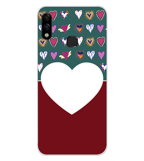 Hearts Photo Back Cover for Infinix Hot 7 Pro
