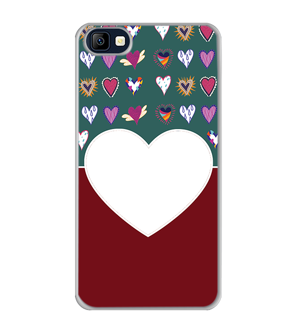 Hearts Photo Back Cover for Karbonn K9 Smart Selfie