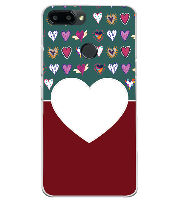 Hearts Photo Back Cover for Lenovo K9 Note
