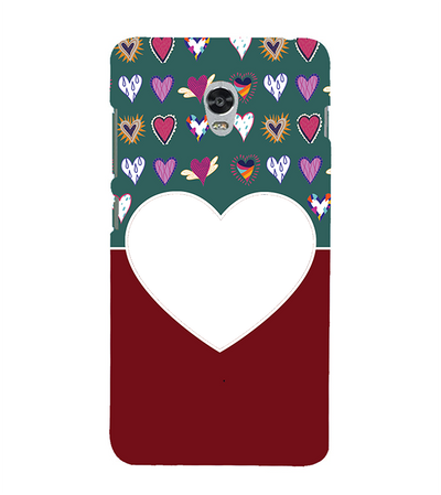 Hearts Photo Back Cover for Lenovo Vibe P1