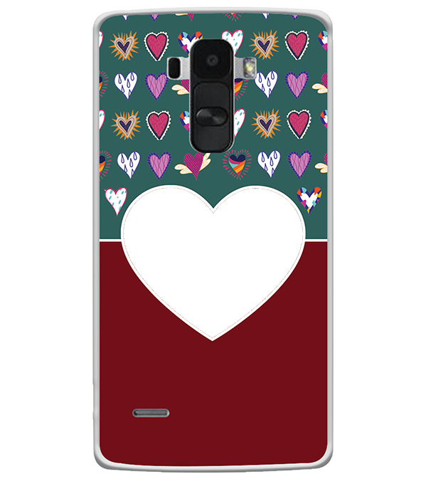 Hearts Photo Back Cover for LG G4 Stylus