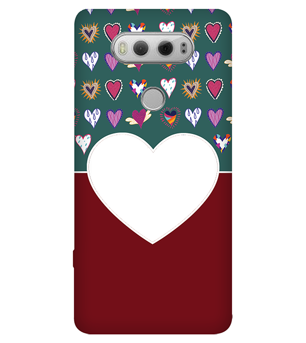 Hearts Photo Back Cover for LG V20