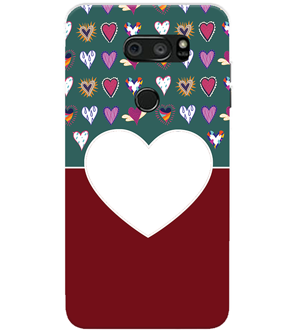 Hearts Photo Back Cover for LG V30