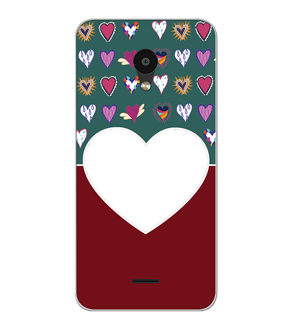 Hearts Photo Back Cover for Meizu C9 Pro