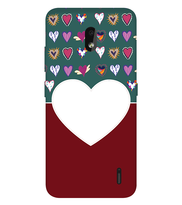 Hearts Photo Back Cover for Nokia 2.2