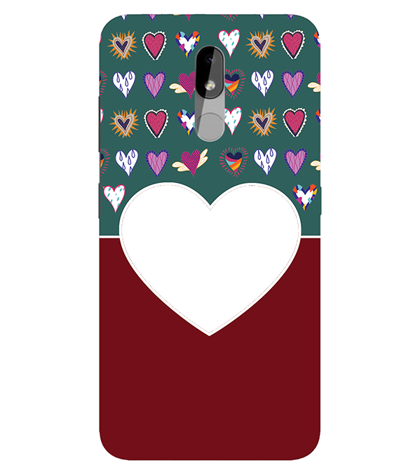 Hearts Photo Back Cover for Nokia 3.2