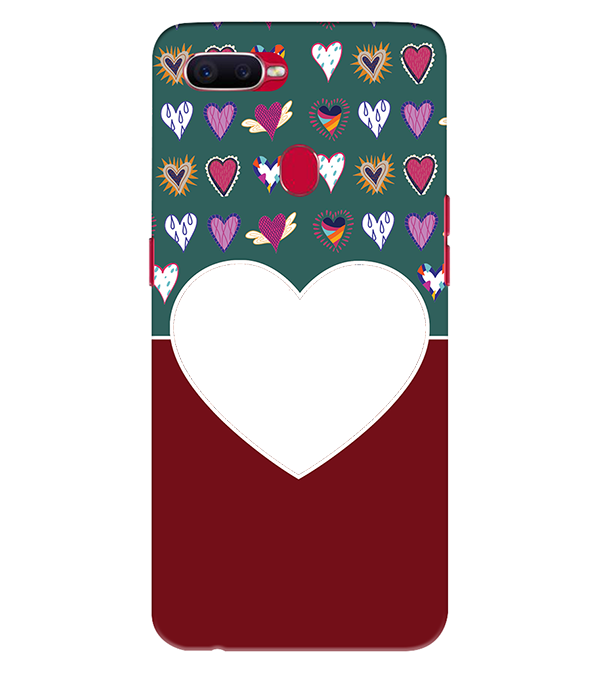 Hearts Photo Back Cover for Oppo Realme 2 Pro