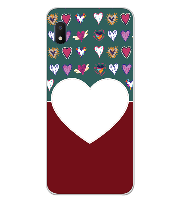 Hearts Photo Back Cover for Samsung Galaxy A10e
