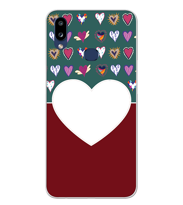 Hearts Photo Back Cover for Samsung Galaxy A10s