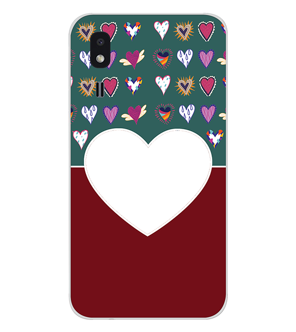 Hearts Photo Back Cover for Samsung Galaxy A2 Core