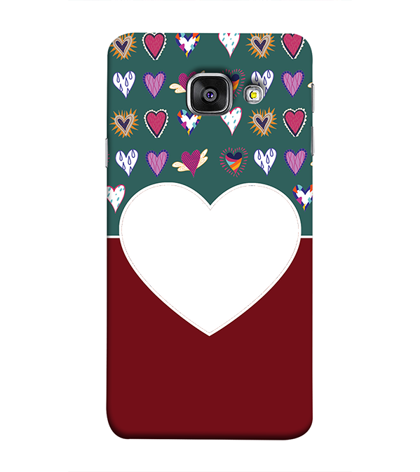 Hearts Photo Back Cover for Samsung Galaxy A9 Pro
