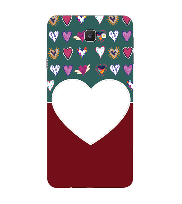 Hearts Photo Back Cover for Samsung Galaxy C9 Pro