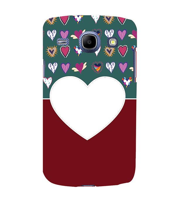 Hearts Photo Back Cover for Samsung Galaxy Core I8260