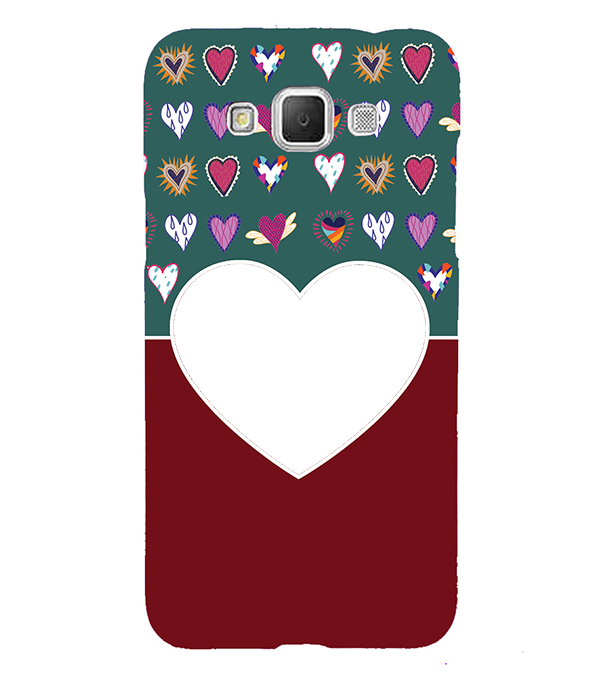 Hearts Photo Back Cover for Samsung Galaxy Grand Max G720