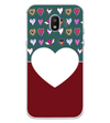 Hearts Photo Back Cover for Samsung Galaxy J2 (2018)