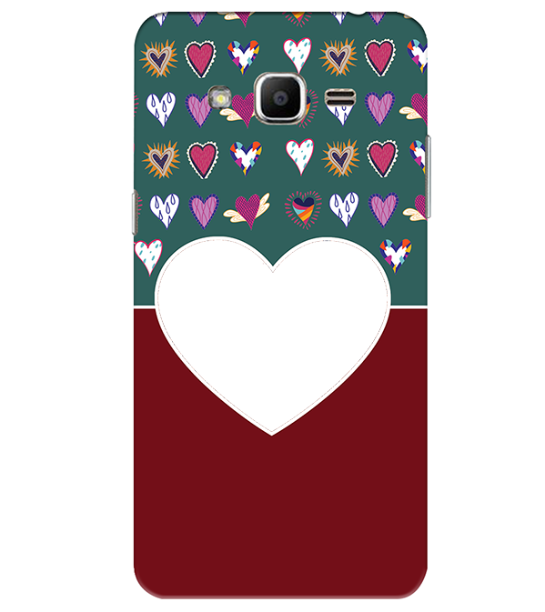 Hearts Photo Back Cover for Samsung Galaxy J2 Ace