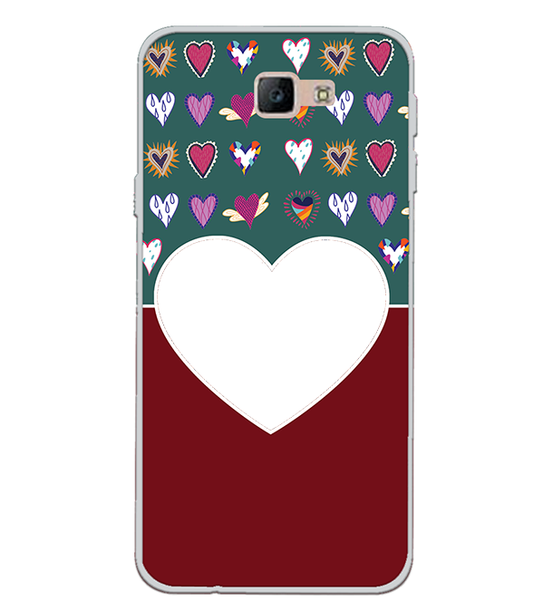 Hearts Photo Back Cover for Samsung Galaxy J7 Prime (2016)