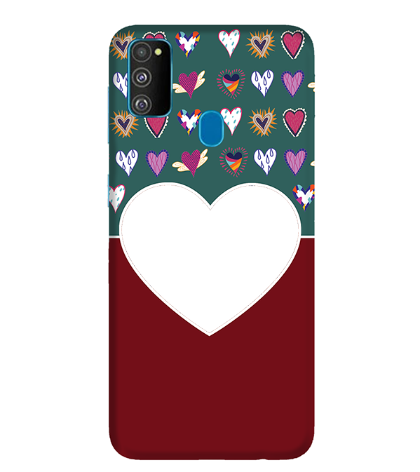 Hearts Photo Back Cover for Samsung Galaxy M30s