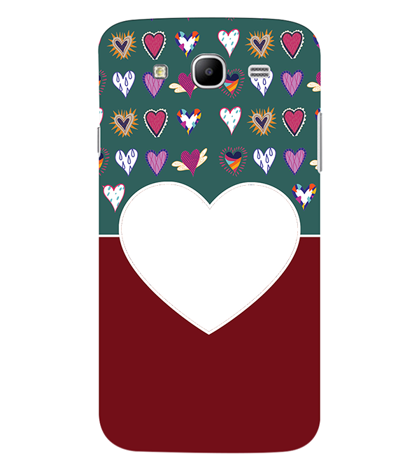 Hearts Photo Back Cover for Samsung Galaxy Mega 5.8 I9150
